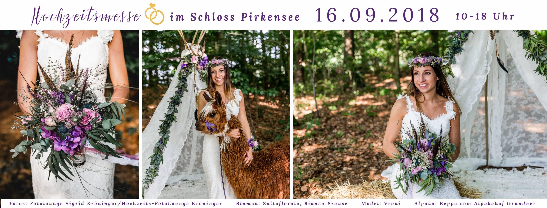 Hochzeitsmesse Schloss Pirkensee 2018