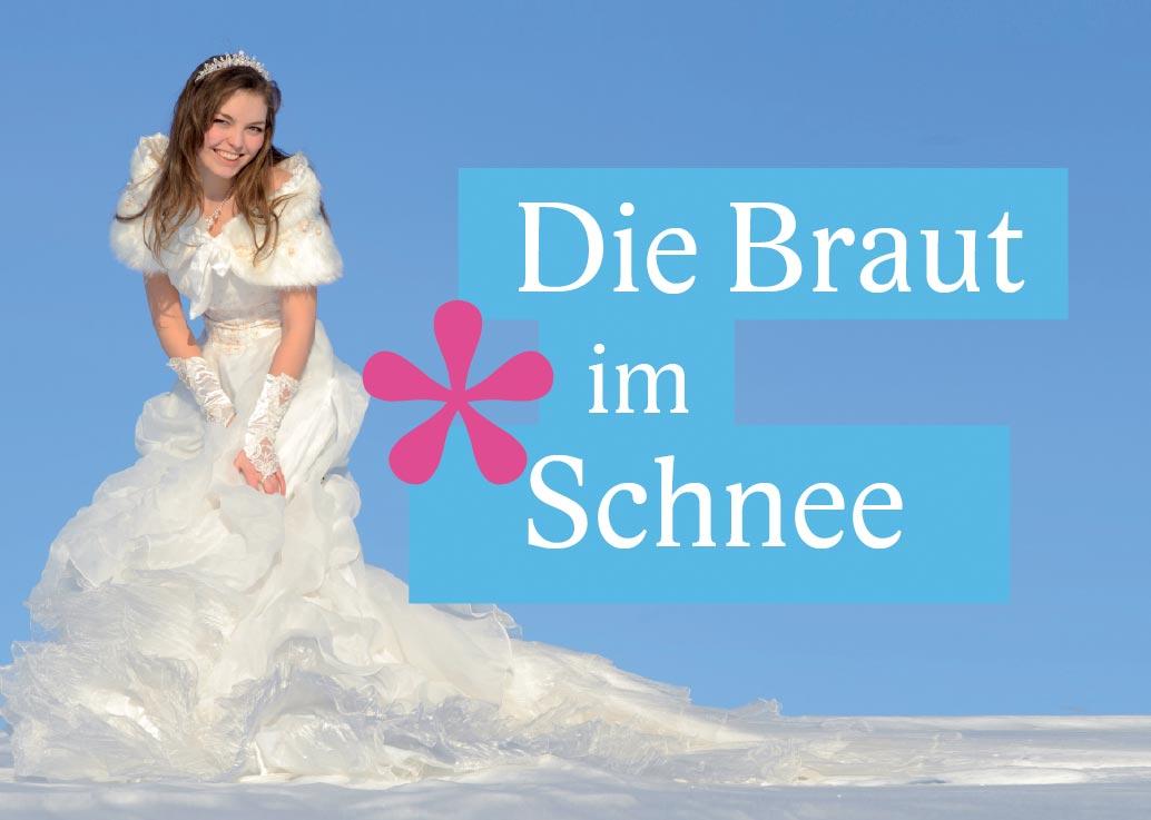 DJ München Braut im Schnee