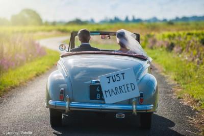 Warum nicht an einem Freitag heiraten? Das hat Vorteile.